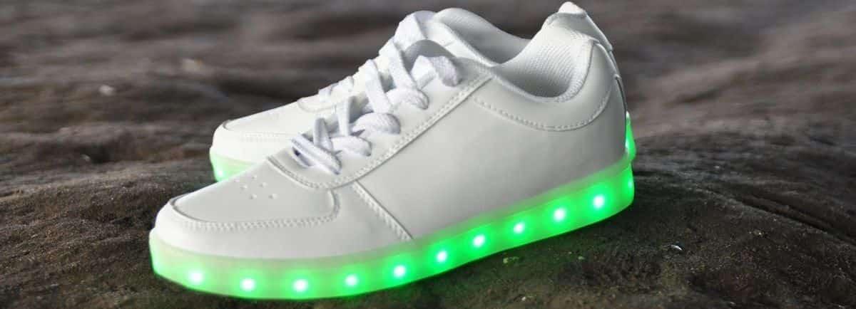 Chaussure qui s'allume : comparer les plus belles chaussures LED