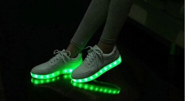 Acheter des chaussures LED qui s'allument : comparatif & guide
