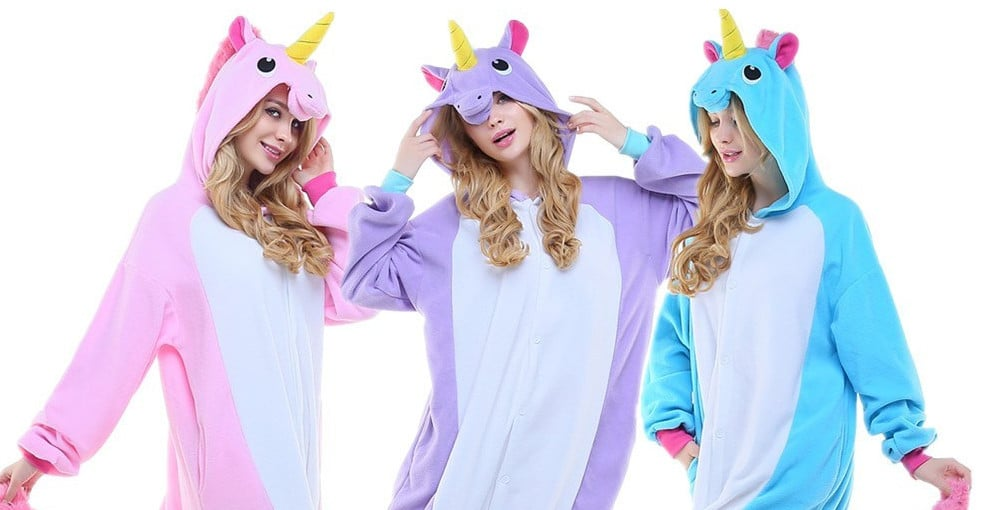 pyjama licorne femme