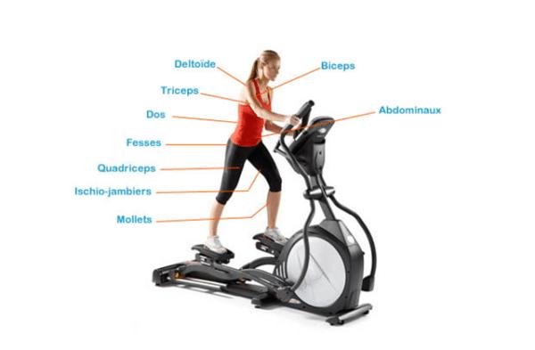 fonctionnement d'un vélo elliptique