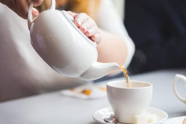 L'infusion du thé noir