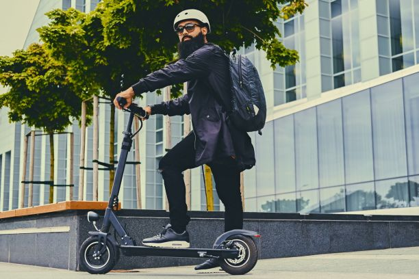 Véhicule électrique - Scooter motorisé