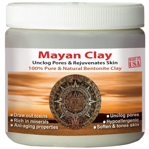 mayan clay masque argile