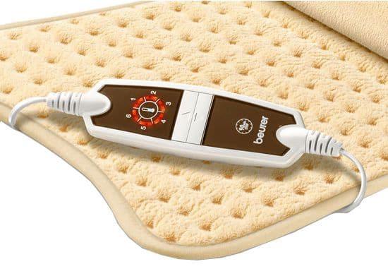 Coussin chauffant - Batterie rechargeable pour électrodes abdominales Beurer
