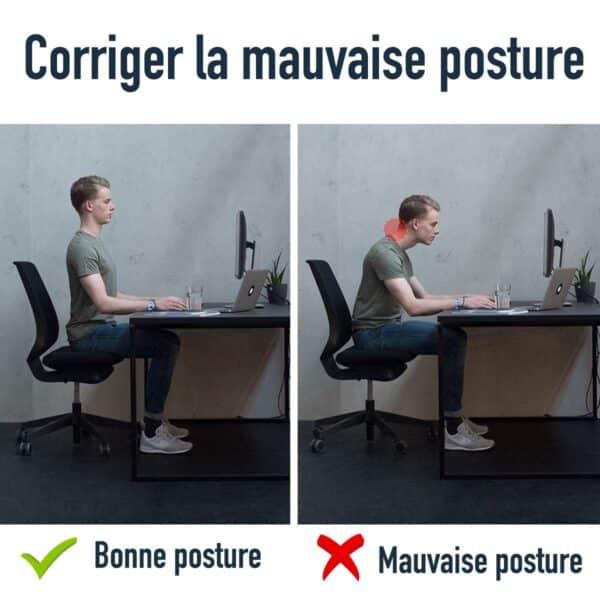 Port du correcteur de posture