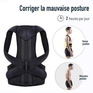 Correcteur postural complet